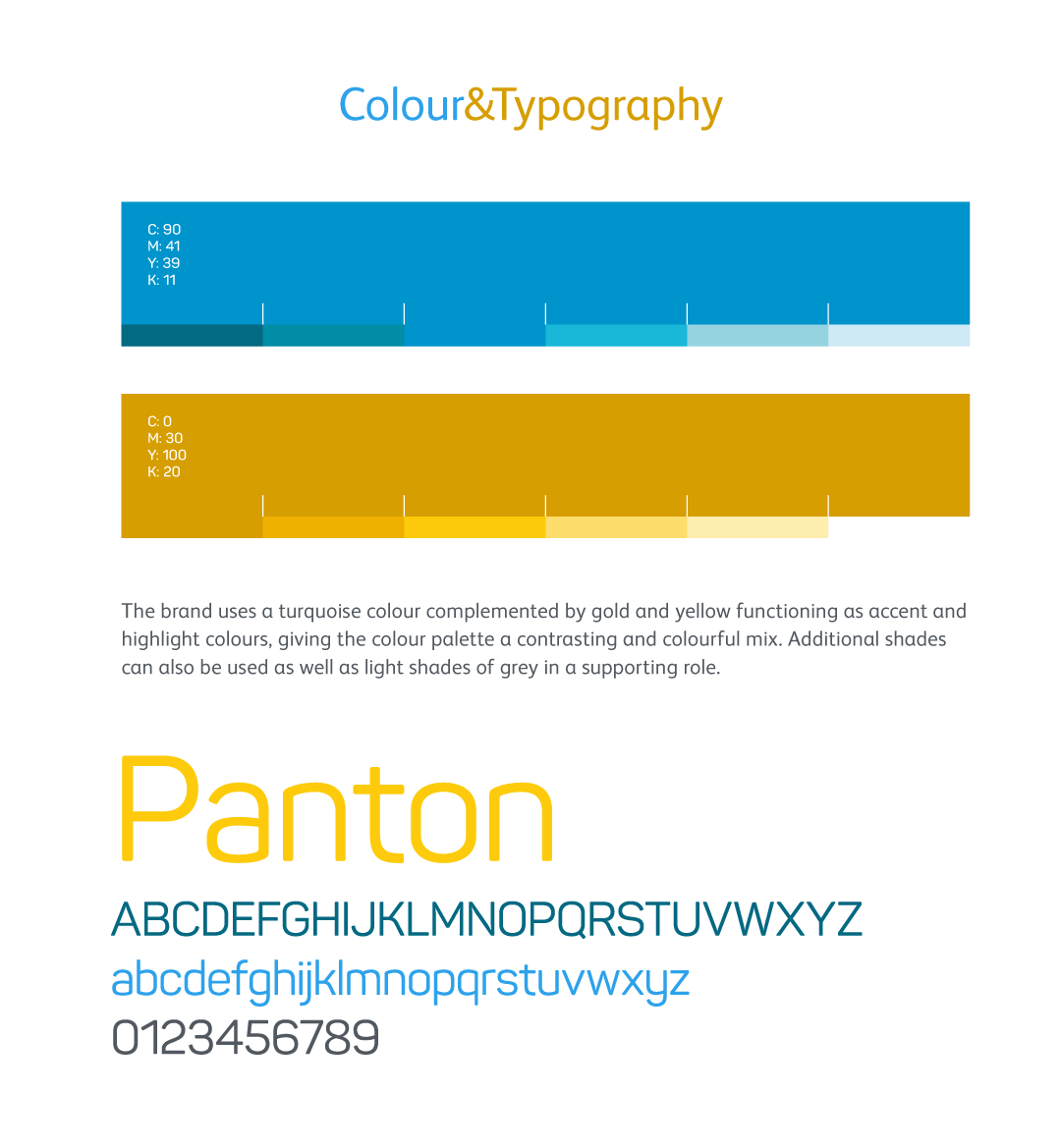 Colour and typography