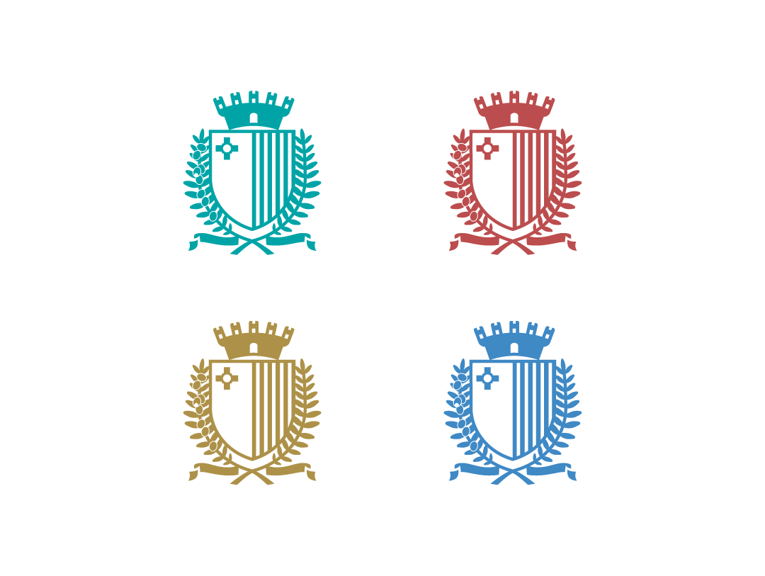 Coat of Arms colour versions