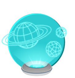Space map strategy icon