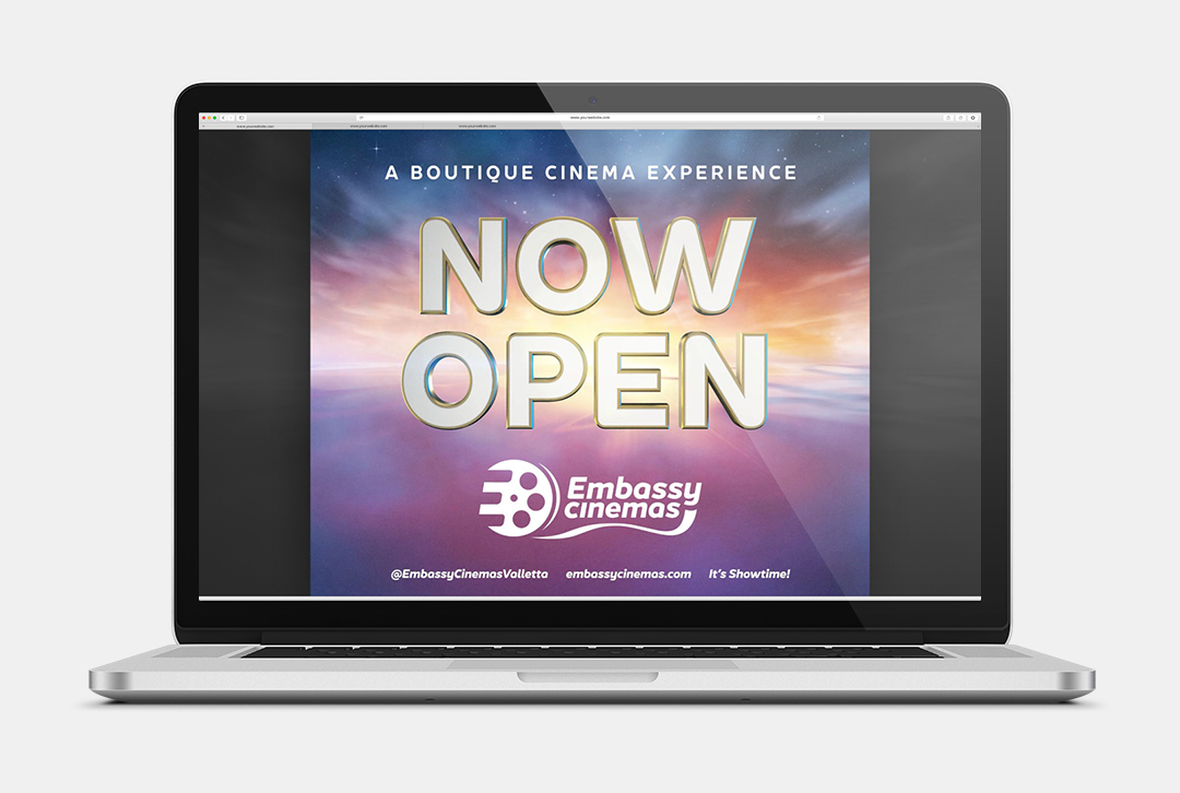 Embassy Cinemas Now Open post