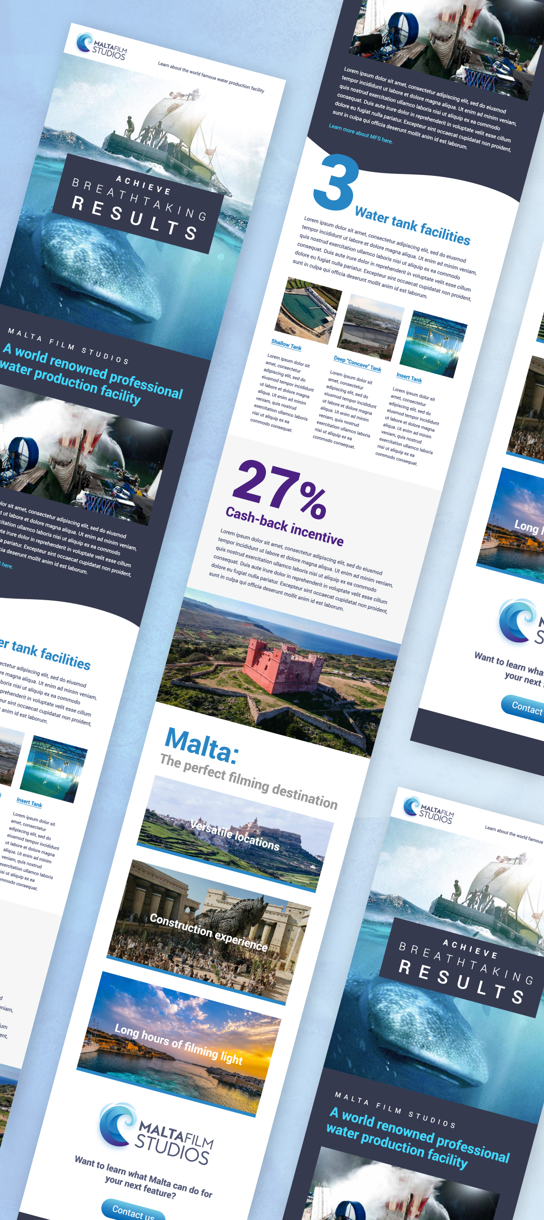 Malta Film Studio e-mail newsletter