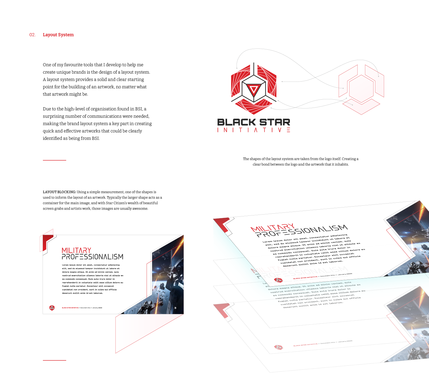 Explaining the layout system for the BSI brand